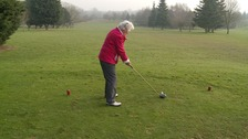 Golfer still in the swing at the age of 90