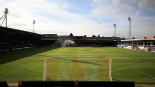 Luton Town's ground at Kenilworth Road