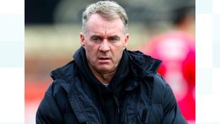 Former Notts County's manager John Sheridan