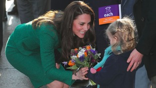 Duchess hears heart-breaking story of couple who lost son to brain tumour
