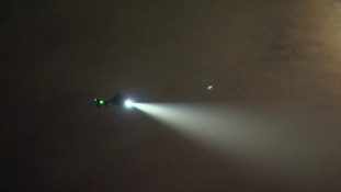 Air ambulance targeted by laser pen during emergency call
