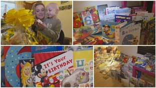 Strangers sent a little boy with leukaemia hundreds of birthday cards after online appeal