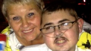 Jon Paul Oxley, 21, pictured with his mum Jill.