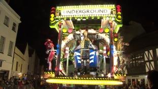 Bridgwater Carnival scoops prestigious award