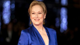 Meryl Streep celebrates 20th Oscar nomination with hilarious gif