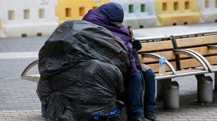 Number of UK rough sleepers doubles in six years, figures show