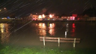 """A navy architect who jumped into the river at Great Yarmouth during the storm surge admits he was """"stupid"""""""