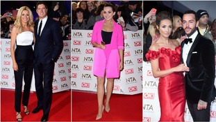 Stars arrive for the National Television Awards