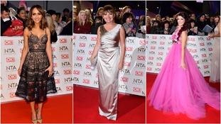 Coronation Street's Samia Ghadi, ITV's Lorraine Kelly and X Factor runner-up Saara Aalto.