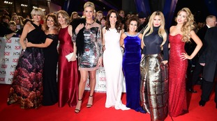 Stars of Loose Women, which is up for a Live Magazine Show award