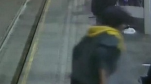 Man launches attack on woman waiting for a tram