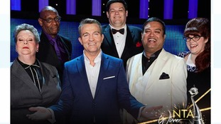Stars of The Chase, including presenter Bradley Walsh