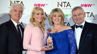 Holly Willoughby, Phillip Schofield, Ruth Langsford and Eamonn Holmes.