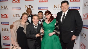 Jenny Ryan, Bradley Walsh and Cast of The Chase