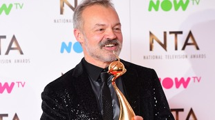 'Oh no, I forgot to thank mum', says Graham Norton after NTA win