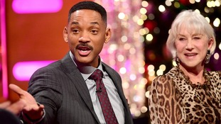 Will Smith and Helen Mirren, who have been guests on The Graham Norton Show, recorded a message for the NTAs congratulating the presenter.