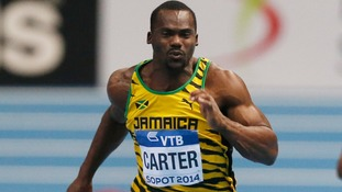 Nesta Carter tested positive for a banned substance, the International Olympic Committee said.