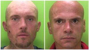 Burglars caught thanks to dashcam footage
