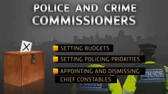 The new Police and Crime Commissioners will be holding our police forces to account.