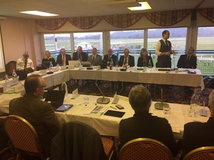 The meeting gets underway in Newton Abbot.