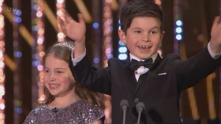 Meet William and Molly: The Welsh 'Gogglesprogs' who melted hearts at the NTAs