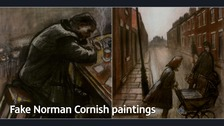 Paintings by Richard Pearson from Sunderland were passed off as original artwork by Norman Cornish.