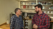 Jonathan in conversation with Nick Knowles