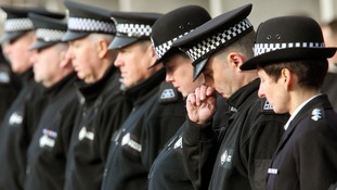 Funeral of Strathclyde police officer Rod Gellatly