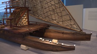 The centrepiece is a newly-commissioned traditional Fijian double-hulled sailing canoe.