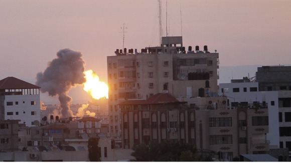 Israeli air strikes in Gaza