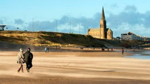 Longsands beach, North Tyneside