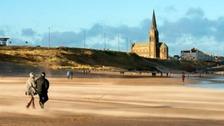 Longsands beach, North Tyneside