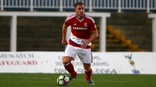 Jonny Burn captained Boro's under-21 side had been on-loan at Kilmarnock this season