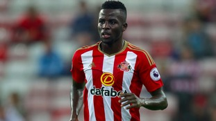 Papy Djilobodji will serve his four match ban for violent conduct during Sunderland's 2-0 loss against West Brom