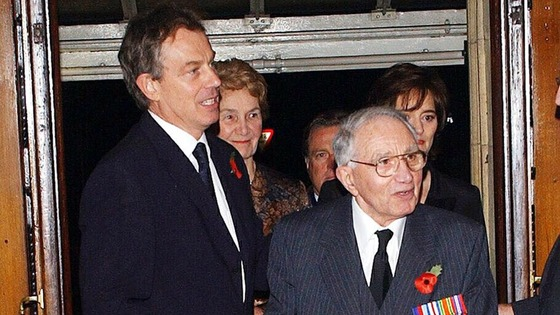 Tony Blair cancelled his engagements in Newcastle today, November 15, to be at his father's side.