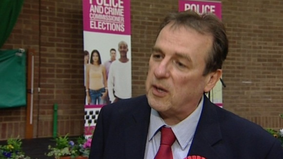 Barry Coppinger won with a total of 31 340 votes and says he is looking forward to taking up his new role.