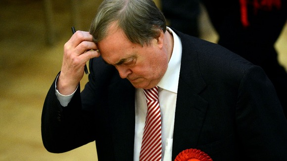 John Prescott lost to his Conservative counterpart in the battle to become Humberside's first Police and Crime Commissioner