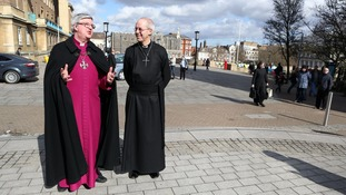 The Archbishop of Canterbury Justin Welby and The Bishop of Norwich