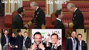 Ant and Dec receive OBEs at Buckingham Palace