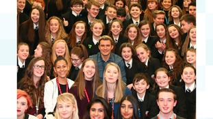 The Hollywood superstar who dropped in on a Stockport school