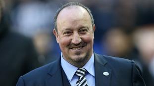Rafa Benitez fielded three academy players in Newcastle United's third round win against Birmingham City