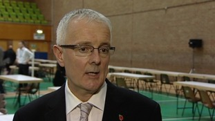 Returning Officer, David Bond, says he is disappointed by the turnout for the PCC elections.