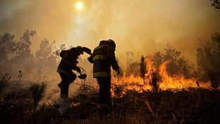 Ten dead as wildfires rage through central Chile