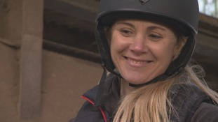 Sailing Olympian training to be jockey for charity race