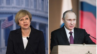 Theresa May wants US support for NATO