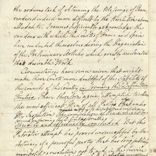 """letter to king george iii A further mandate to king george iii dealt in detail with the british ambassador's proposals and the emperor's reasons for declining them : """"you, o king, from afar have yearned after the blessings of our civilisation, and in your eagerness to."""