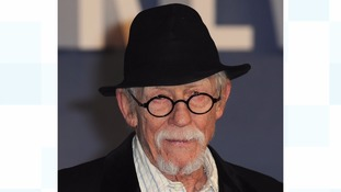 Sir John Hurt attended the UK Premiere of 'Revenant' at Empire Leciester Square in 2016