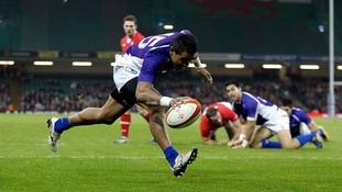 Fa'atoina Autagavaia scoring for Samoa