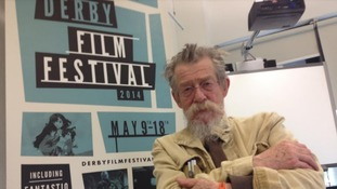 Sir John Hurt at Derby Film Festival in 2014.