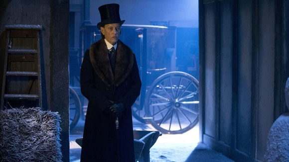 Richard E Grant playing Doctor Simeon in 'The Snowmen', this years Doctor Who Christmas special